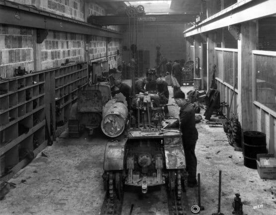 Ziegler Service Bay 1933