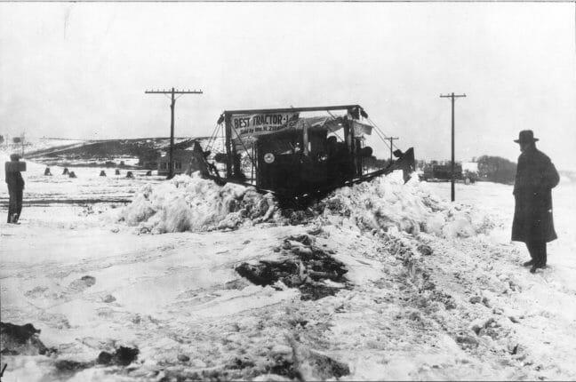 Ziegler CAT History Snow Plowing