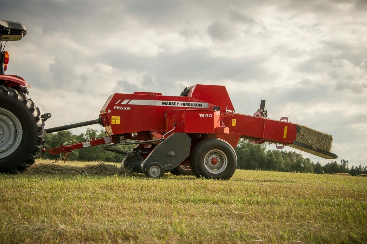 An image of a Massey Ferguson 1800 Series Small Square Baler