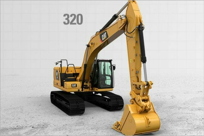 CAT 320 Excavator