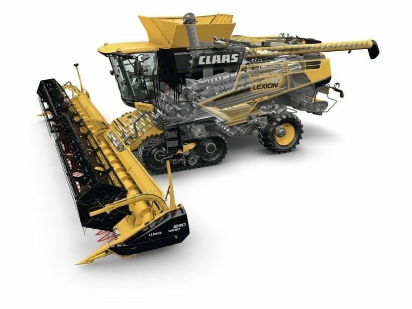 CLAAS 700 Track Combine