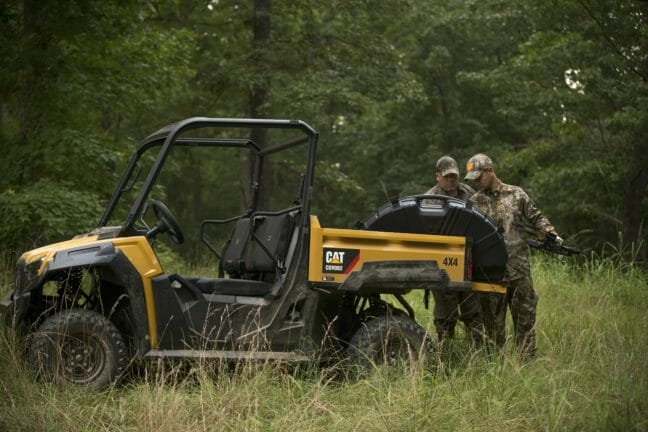 Utility Vehicle_Hunting in Woods