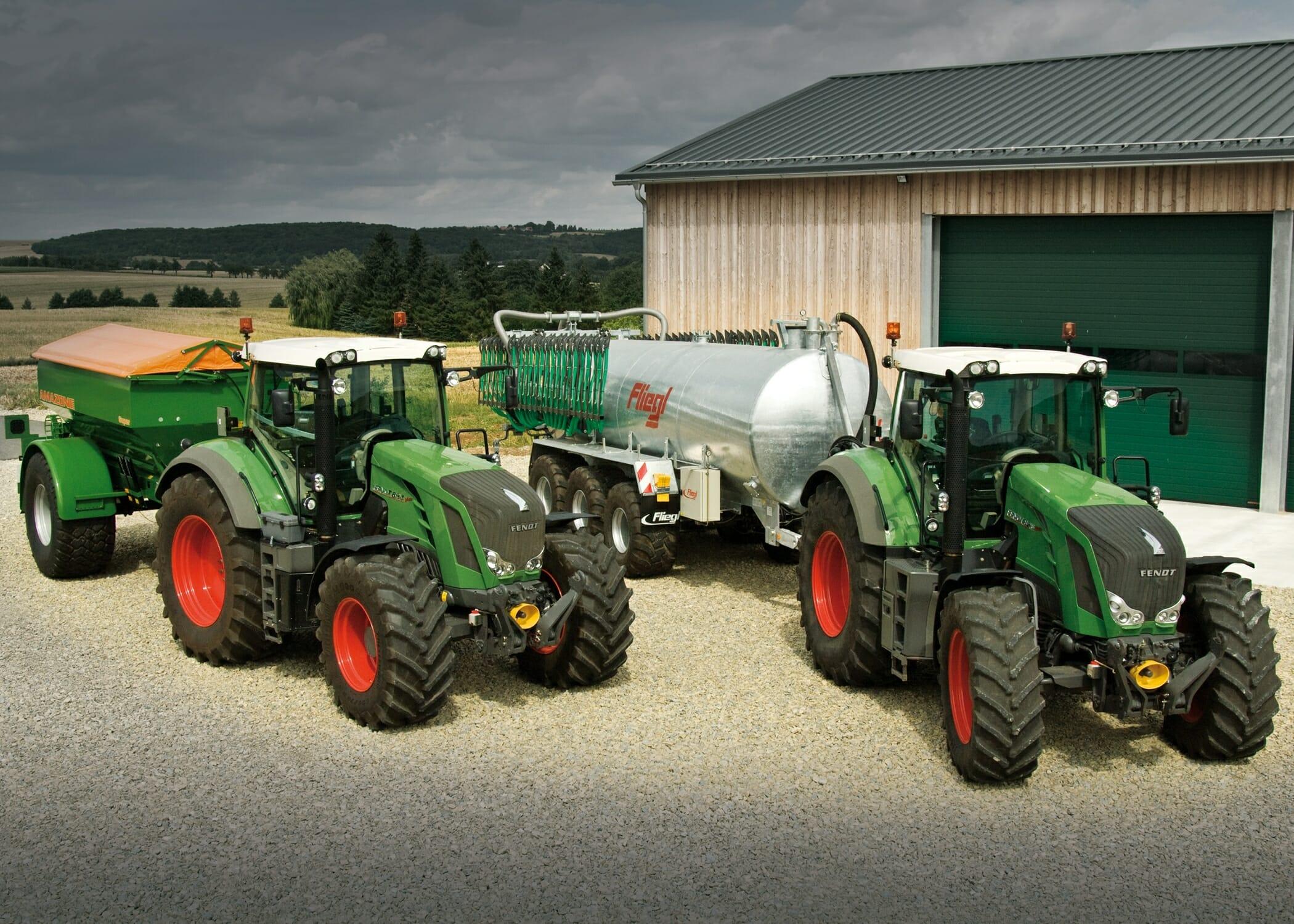 Fendt 800 Series Tractors