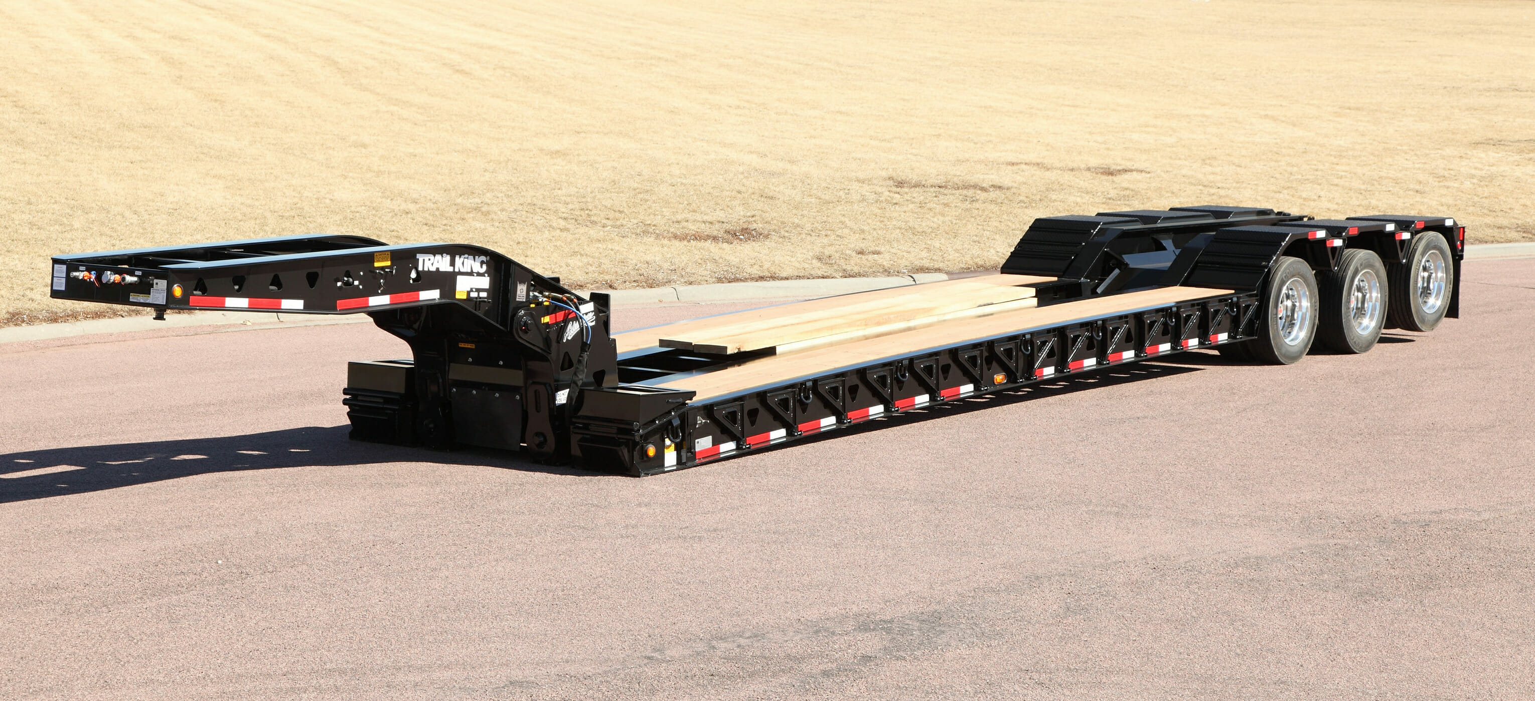 Hydraulic Detachable Gooseneck Trailer