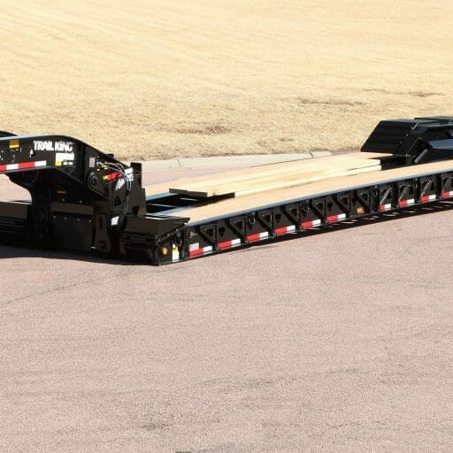 Hydraulic Detachable Gooseneck Trailer_4