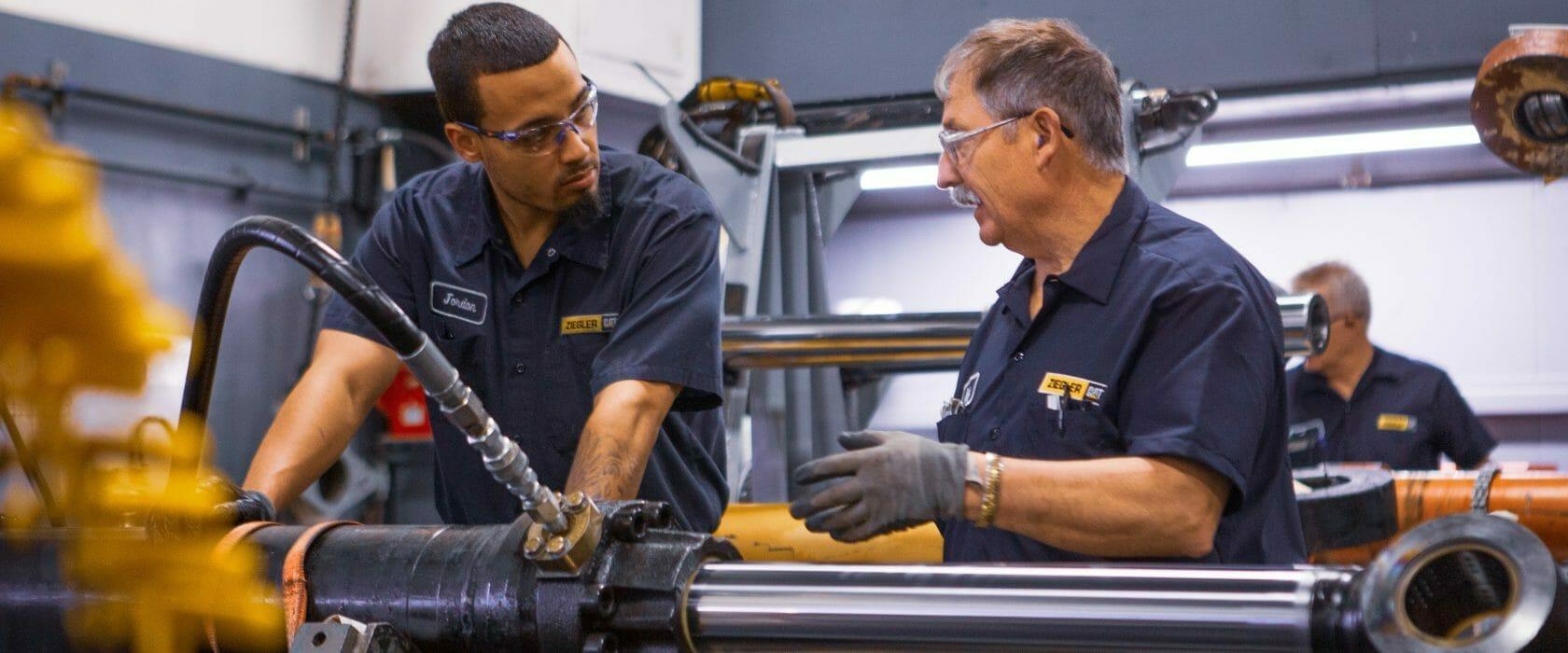 Hydraulic and Machining