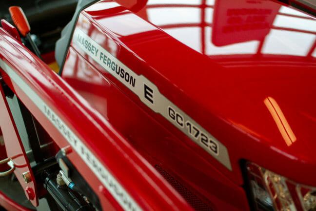Massey Ferguson GC1723EL Tractor