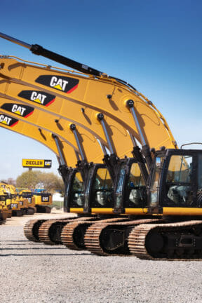 Used Cat Excavators