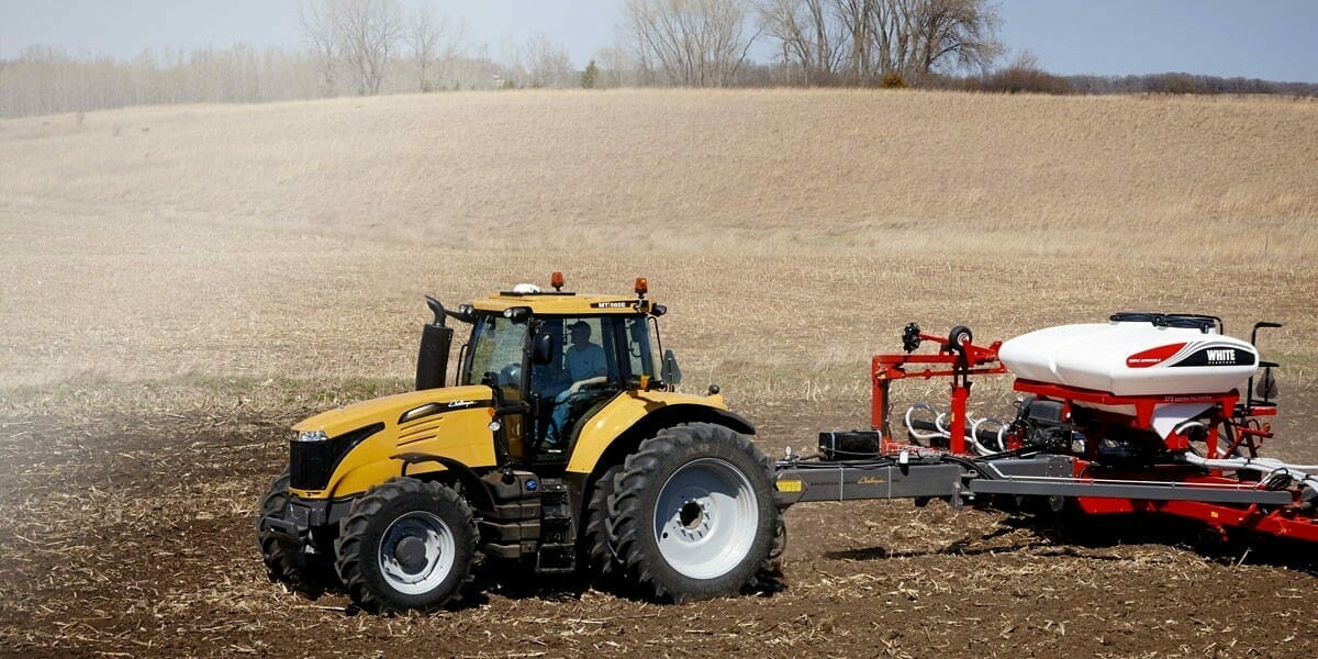MT500 E Series working in field