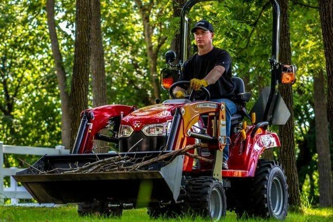 Massey Ferguson GC1723E Sub-Compact Tractor