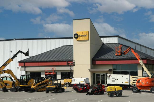 Ziegler Rental Store with Equipment