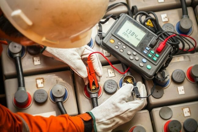 Battery Systems Maintenance