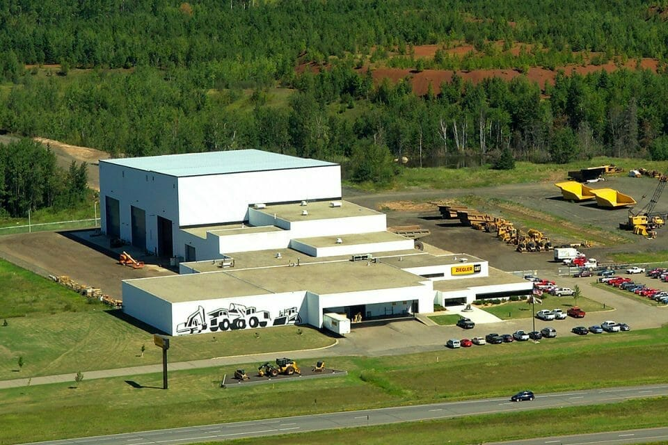 heavy equipment dealer in Buhl, MN
