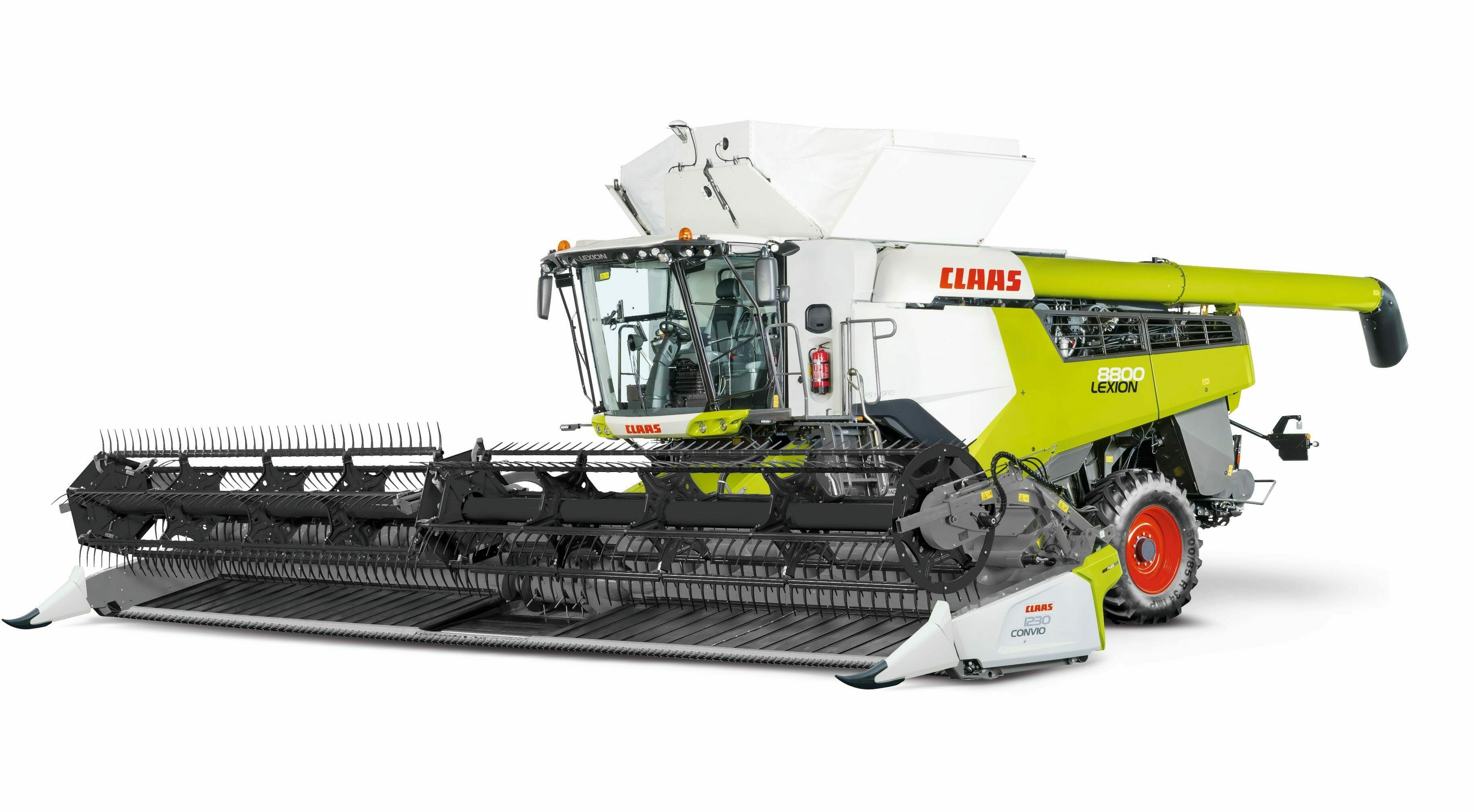CLAAS 8000-7000 combine