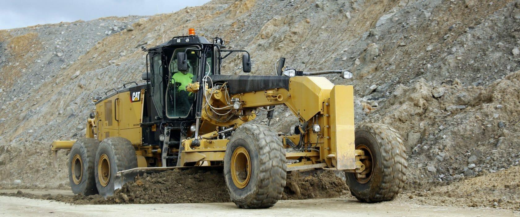Equipment Moving Dirt