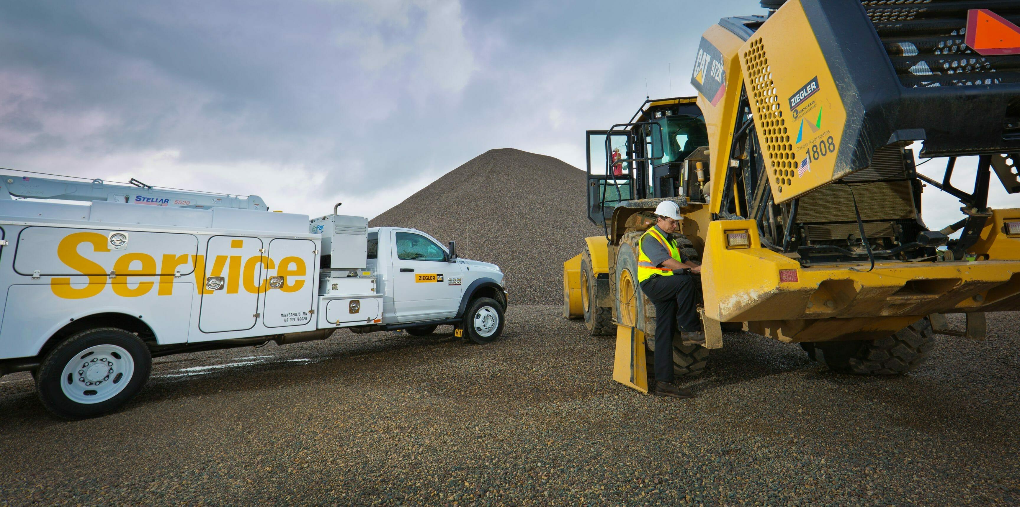 Heavy Equipment Service from Ziegler | Ziegler CAT