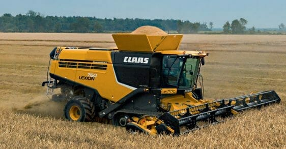 Lexion Tracked Combine