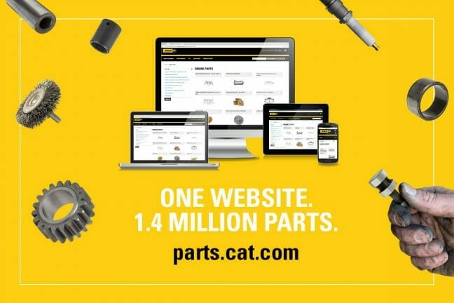 One Website. 1.4 Million Parts. parts.cat.com