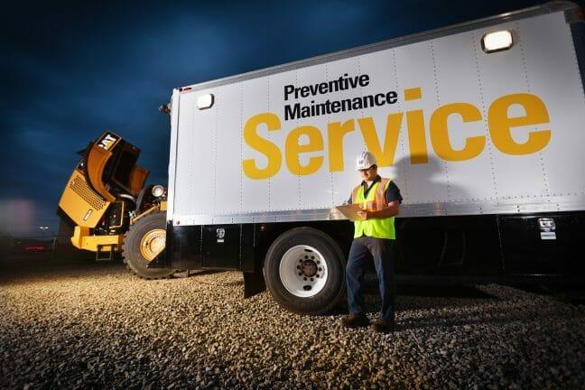 Preventive maintenance truck