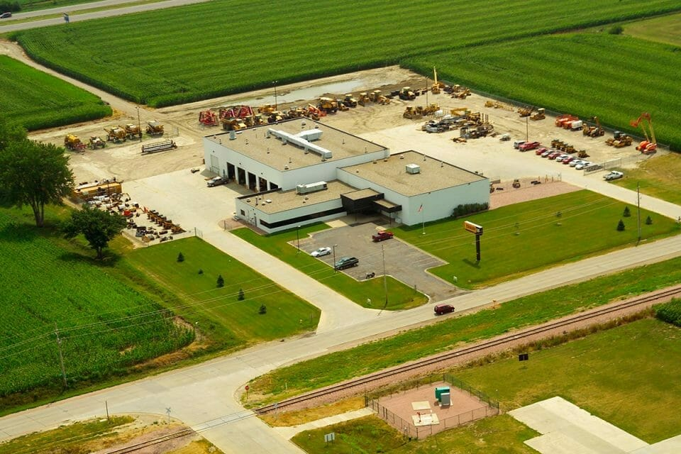 heavy equipment dealer in sioux city iowa