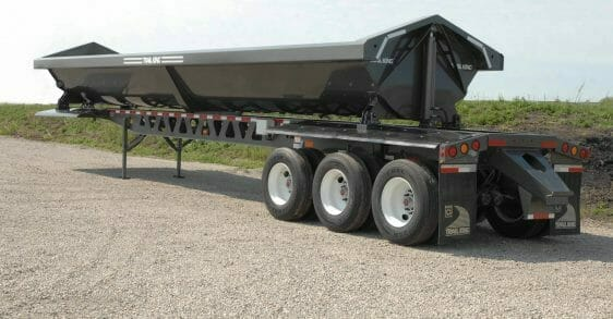 Trail King Steel Side Dump Trailer