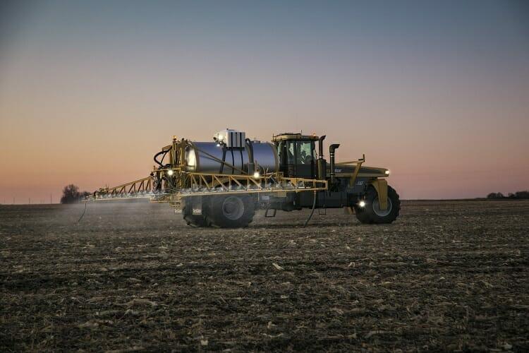 TerraGator C Series 9300 spraying