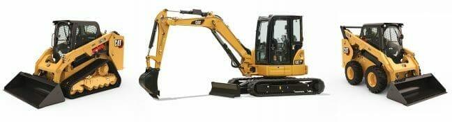 Track Loader, Excavator and Skid Steer