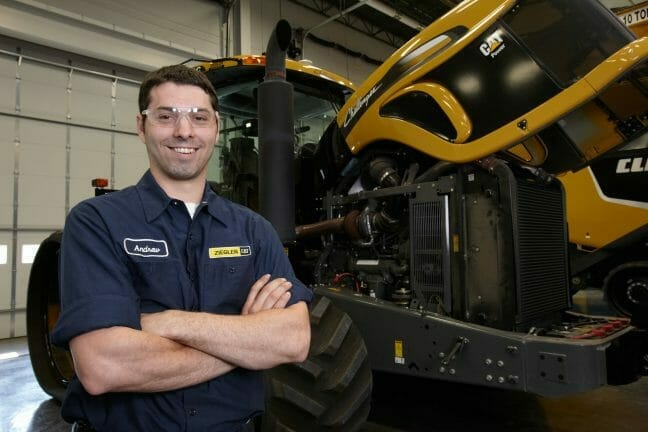 Young Technician Smiling
