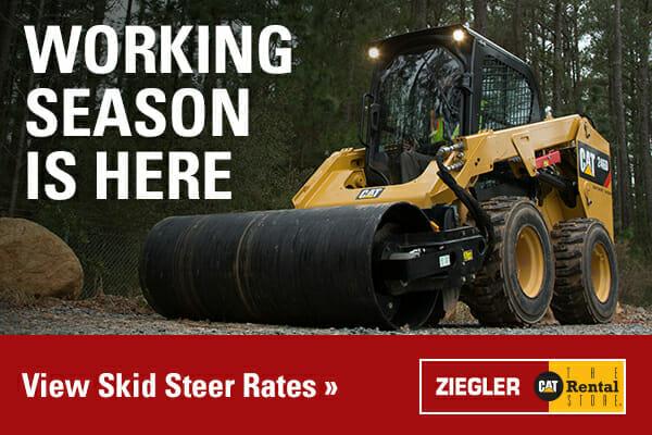 Working Season is Here - View Skid Steer Rates